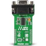 MIKROE-1582, RS232 click, Переходник mikroBUS-RS232