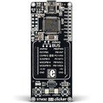 MIKROE-1675, STM32 M4 clicker, Отладочная плата на базе МК STM32F415RG с разъемом mikroBUS
