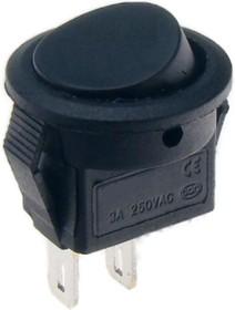 SMRS-101-2C1-B, Переключатель ON-OFF (3A 250VAC) SPDT 2P, черная клавиша