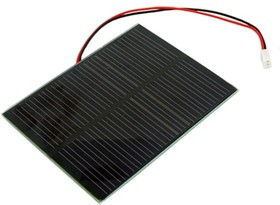 0.5W Solar Panel 55X70, Солнечная панель 5.5В 100мА