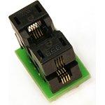 DIP8-MSOP8, Адаптер для программирования микросхем (=AE-SP8U, TSU-D08/MS08-3x3)