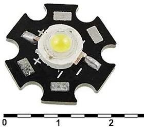 1WR 3.4v 100-110LM 6500-7000K, Светодиод мощный