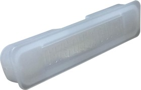 MC001547, DUST COVER, 37POS PLUG D-SUB CONN, WHT