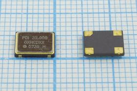 Кварцевый генератор 32МГц 5В, HCMOS в корпусе SMD 7x5мм, гк 32000 \\SMD07050C4\CM\5В\ OC7E32000XHCDXX\PDI