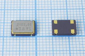 Кварцевый генератор 40МГц 3.3В,HCMOS/TTL в корпусе SMD 7x5мм, гк 40000 \\SMD07050C4\T/CM\ 3,3В\CO4310\RALTRON