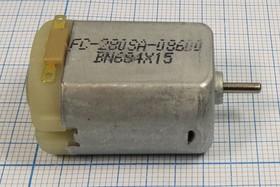 Двигатель постоянного тока 6В, 14000 об/мин, 6210 двиг 6В\0,28А\пр\14000\ 24x30m45\FC-280SA-08600