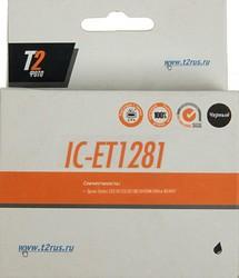 Картридж T2 T12814010 IC-ET1281, черный