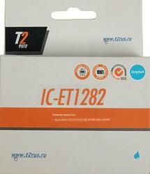 Картридж T2 T12824010 IC-ET1282, голубой