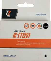 Картридж T2 T12914010 черный [ic-et1291]