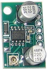 Фото 1/2 SAS0022-20, Миниатюрный одноканальный усилитель НЧ 0.6Вт, усиление 20