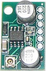 Фото 1/2 SAS0022-200, Миниатюрный одноканальный усилитель НЧ 0.6Вт, усиление 200