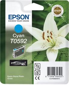 Картридж EPSON C13T059240 голубой [c13t05924010]