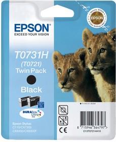 Двойная упаковка картриджей EPSON T10414A10 черный [c13t10414a10]