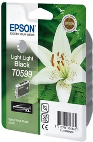 Картридж EPSON T0599 светло-серый [c13t05994010]