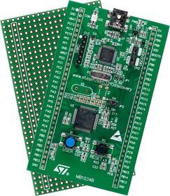 Фото 1/3 STM32F0DISCOVERY, Отладочная плата на базе MCU STM32F051R8T6 (ARM Cortex-M0), ST-LINK/V2