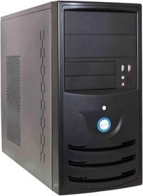 Корпус mATX FORMULA FM-501D, Mini-Tower, 400Вт, черный