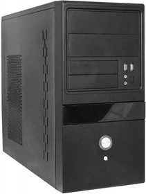 Корпус mATX FORMULA FM-504D, Mini-Tower, 400Вт, черный