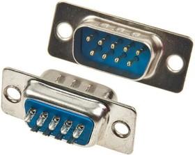 Фото 1/6 DB- 9M (DS1033-09M), Вилка 9 pin на кабель (пайка)