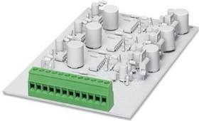1730434, Conn PC Terminal Block 6 POS 5.08mm Solder ST Thru-Hole 24A