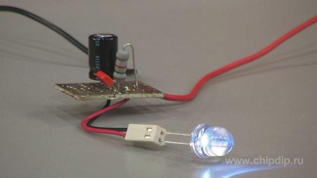 Стробоскоп для дискотеки светодиоды своими руками