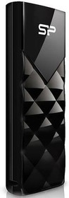 Флешка USB SILICON POWER Ultima U03 16Гб, USB2.0, черный [sp016gbuf2u03v1k]