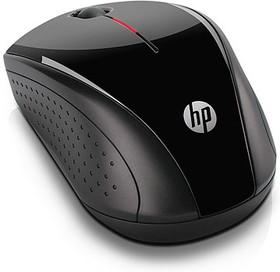 Мышь HP X3000 оптическая беспроводная USB, черный [h2c22aa]