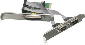 Контроллер PCI-E MS9901 1xLPT 2xCOM Bulk [asia pcie 2s1p]