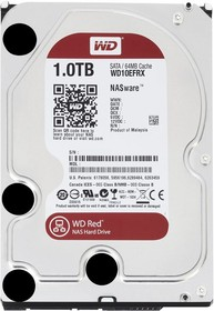 Жесткий диск WD Red WD10EFRX, 1Тб, HDD, SATA III, 3.5""