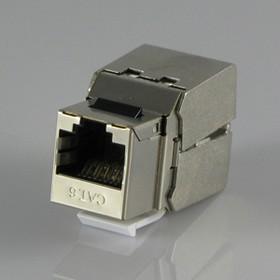 HYC-K1823, Розетка Keystone 8P8C (RJ-45) CAT.6, экранированная (PUNCH DOWN)