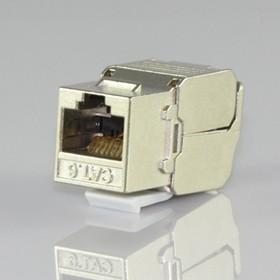 HYC-K28F23, Розетка Keystone 8P8C (RJ-45) CAT.6, экранированная (TOOL FREE & PUNCH DOWN)