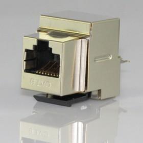 HYC-K8B23, Розетка Keystone 8P8C (RJ-45) CAT.6, экранированная (PUNCH DOWN)