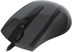Мышь A4 V-Track Padless N-500F оптическая проводная USB, черный