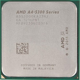 Процессор AMD A4 5300, SocketFM2 OEM [ad5300oka23hj]