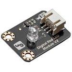 DFR0021-R, Add-On Board, LED Light Module, Red, Gravity Series, Arduino ...