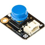 DFR0029-B, Add-On Board, Push Button Module, Blue Cap, Gravity Series, Arduino ...