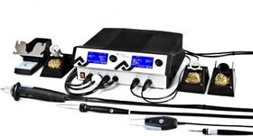 ICON VARIO 4 Макси (ICV4000-AICX), Станция паяльно-ремонтная четырехканальная, антистатическая