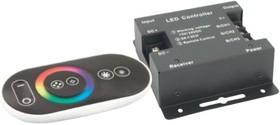 Фото 1/2 ND-CRGB360RFSENSOR- IP20-12V (71493), Контроллер для RGB светодиодной ленты с сенсорным пультом ДУ