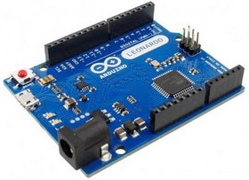 Фото 1/3 Arduino Leonardo, Программируемый контроллер на базе ATmega32U4