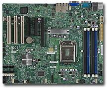 Серверная материнская плата SUPERMICRO MBD-X9SCE-F-B, BULK