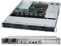 Корпус SuperMicro CSE-815TQC-R706WB 2x750W черный