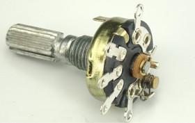 R-17S1-B50K, L20KC, 50 кОм, Резистор переменный без гайки