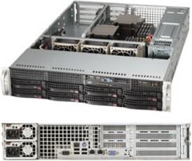 "Платформа SuperMicro SYS-6027R-WRF 3.5"" SAS/SATA С602 1G 2P 2x740W"