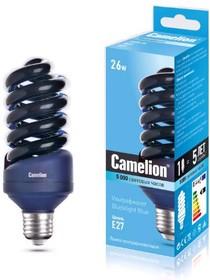 Фото 1/3 LH26-FS/BLB/E27, Лампа энергосберегающая УФ 26Вт, 220В, Е27