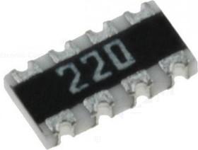 Фото 1/2 CAT16-270J4 4х27 Ом, ЧИП резисторная сборка (SMD)