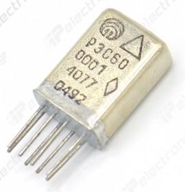 Фото 1/3 РЭС60 РС4.569.435-00.01, (27В), Реле электромагнитное