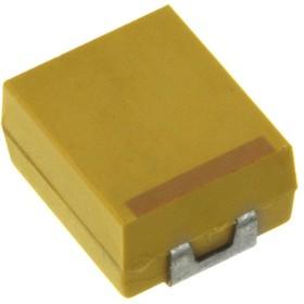 Фото 1/2 TECAP, 0.68 мкФ, 35 В, тип A, 20%, Конденсатор танталовый SMD