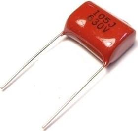 К73-17 имп, 1 мкФ, 630 В, 5-10%, Конденсатор металлоплёночный