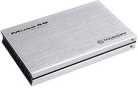 Внешний корпус для HDD THERMALTAKE Muse 5G ST0041Z, серебристый