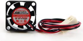 EC2008HH05C, Вентилятор 5В, 20х20х08мм , подшипник Uni-ball, 19000 об/мин