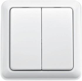 AWST-8802 (71012 0), Беспроводной настенный выключатель, 2 клавиши